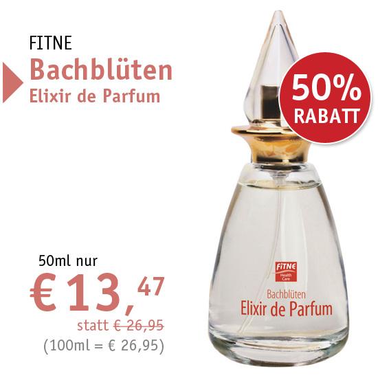 FITNE Bachblüten Elixir de Parfum - nur € 13,47 - 37221