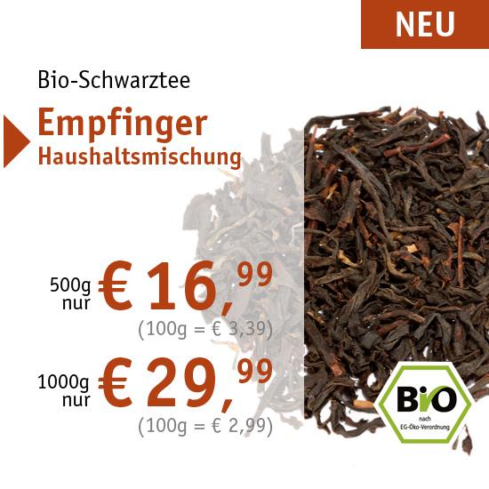 Bio-Schwarztee Empfinger Haushaltsmischung - 556 - ab € 16,99