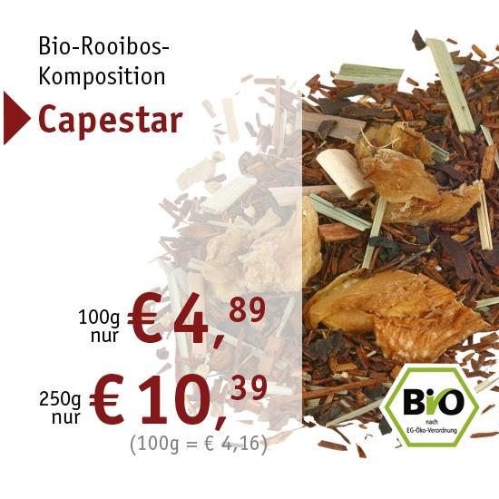 Bio-Rooibos-Komposition - Capestar - 2447 - ab € 4,89