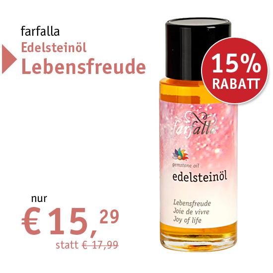 farfalla Edelsteinöl Lebensfreude - nur € 15,29 - 28329