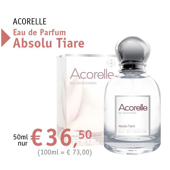 ACORELLE Eau de Parfum Absolu Tiare - 38849 - 50ml nur € 36,50