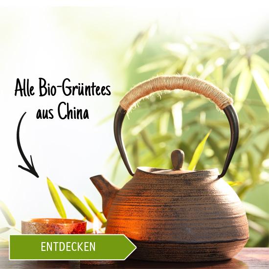 Alle Bio-Grüntees aus China entdecken